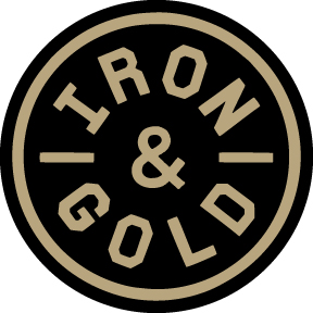 Iron-and-gold
